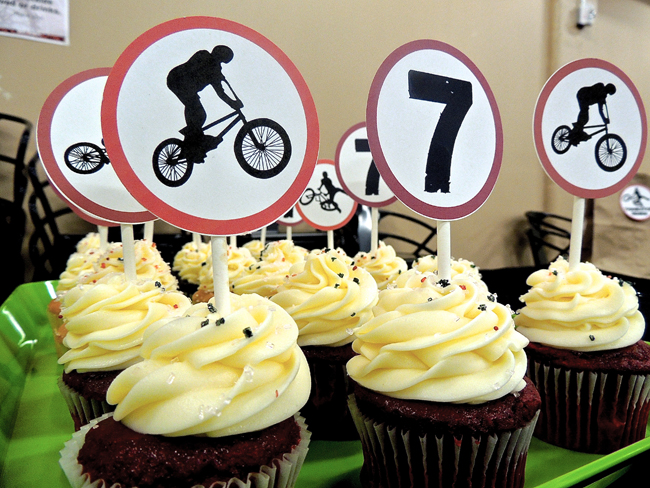 Bike Themed Birthday Party